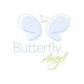 Butterfly Angel  logo