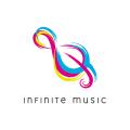 無限的音樂Logo