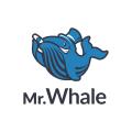 Mr. Whale  logo
