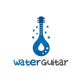 Water Guitar  logo