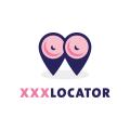 XXX定位器Logo