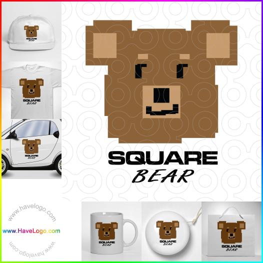 熊logo設計 - ID:17522