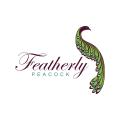 featherly peacock  logo