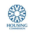 政府的住房機構Logo