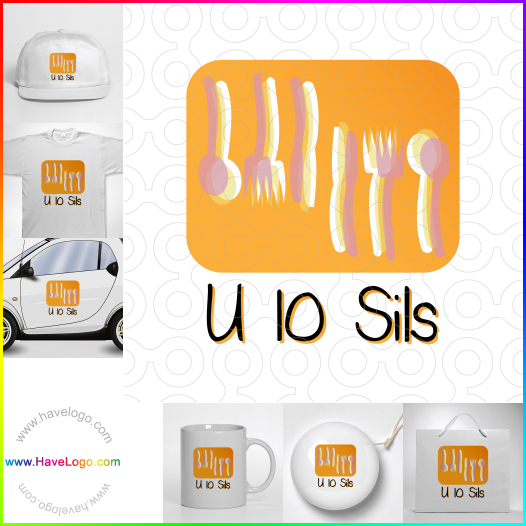 restaurant logo - ID:35219