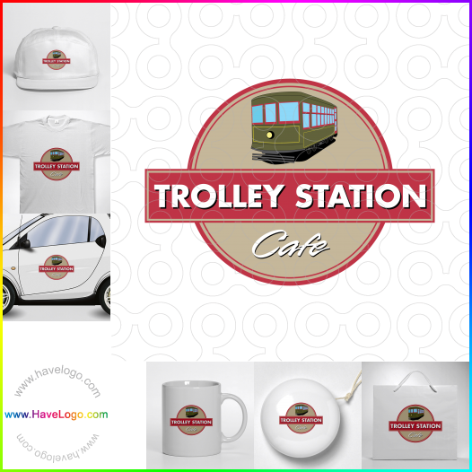 trolley logo - ID:26771