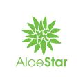 Aloe Star  logo