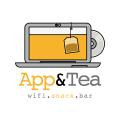 APP和茶Logo