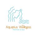 Aquarius wellness  logo