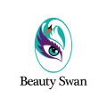 美麗的天鵝Logo