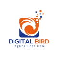 數字鳥Logo
