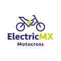 電動摩托車越野賽的MXLogo