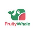 水果的鯨魚Logo