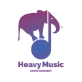 Heavy Music Entertainment  logo