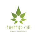 Hemp Oil Organic Supplement  logo