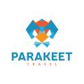 鸚鵡Logo