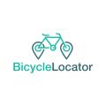 自行車定位Logo
