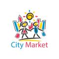 城市市場Logo