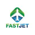 快速噴氣Logo