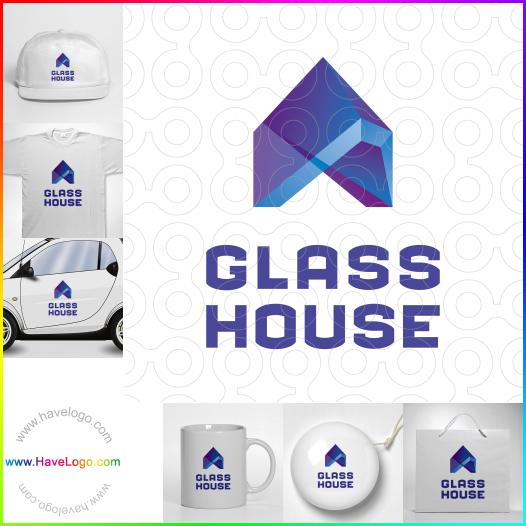 玻璃房子logo設計 - ID:65666