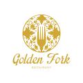 Golden Fork  logo