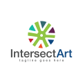 Intersect Art  logo