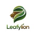 Leafy Lion  logo