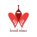 Loved Wines  logo