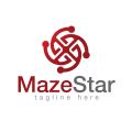 Maze Star  logo