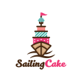 帆船蛋糕Logo