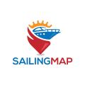 Sailing Map  logo