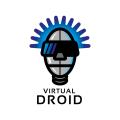 虛擬機器人Logo
