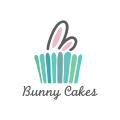 bunny cakes  logo
