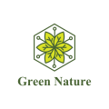 綠色自然Logo