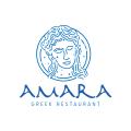 Amara Greek Restaurant  logo