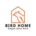 鳥的家Logo