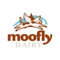 Moofly Dairy  logo