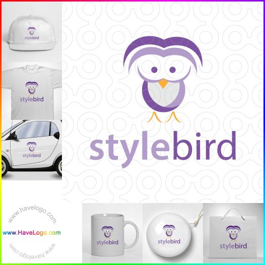風格鳥logo設計 - ID:65653
