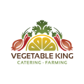 Vegetable King  logo