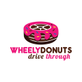 輪子的甜甜圈Logo