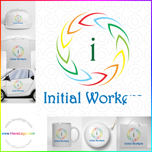 colorful logo - ID:17604