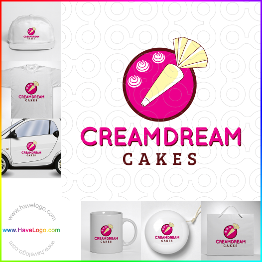 cream logo - ID:35532