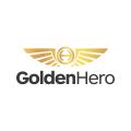 golden hero  logo