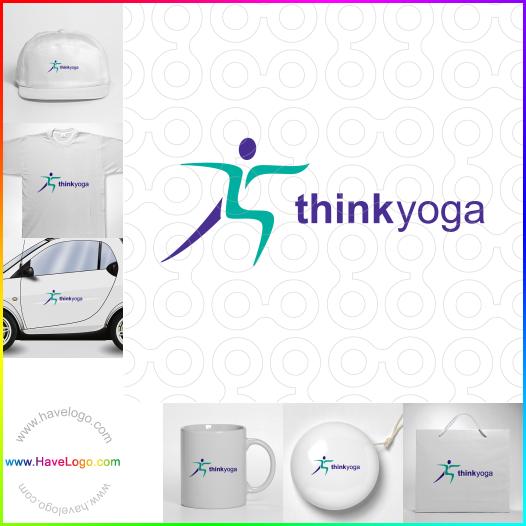 pilates logo - ID:35159