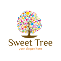 store with sweets logo