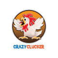 Crazy Clucker Chicken  logo