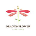 Dragon Flower  logo