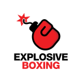 爆炸拳擊logo