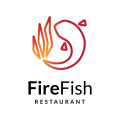 Fire Fish  logo