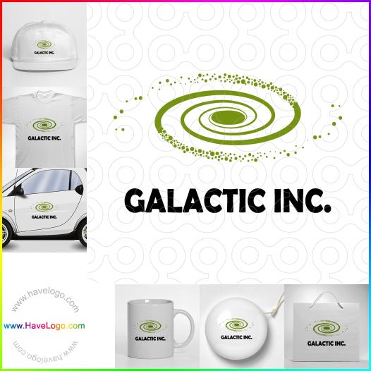 銀河公司logo設計 - ID:65654